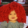 Photo #1 - Baby Charlie as Raggedy Ann