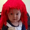 Photo #2 - Preslei Rai as a Raggedy Anne 9months old