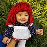 Photo #2 - Raggedy Ann baby's first Halloween