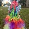 Photo #5 - Rainbow wig 🌈🌈🌈