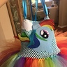 Photo #10 - Rainbow Dash made from felt