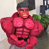 Photo #1 - Red Hulk caught on cam