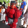 Photo #2 - Red Hulk not happy to be there