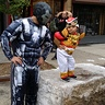 Photo #1 - Red Power Ranger and War Machine