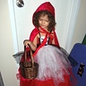 "Photo #1 - Red Riding Hood and her ""Big"" Bad Wolf"
