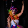 Photo #1 - Rillek the clown -- photographer Dan Seaborn