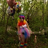 Photo #5 - Rillek the clown -- photographer Chris Seaborn