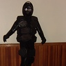 Photo #1 - Robot with right foot foward