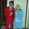 Photo #1 - Ron Burgundy and Veronica Corningstone