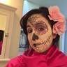 Photo #1 - Rosa Dia de los Muertos (Pink Day of the Dead)