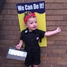 Photo #1 - Toddler Rosie the Riveter costume