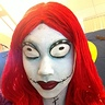 Photo #4 - An additional close up of Sally's face paint.