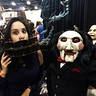 Photo #3 - With the iconic Billy the Puppet from 'SAW'
