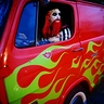 Photo #4 - driving our clown mobile