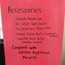 Photo #2 - Side of Box with Accessories List