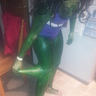 Photo #4 - She-Hulk takes it off!