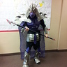 Photo #1 - complete costume with facemaks and weapon