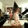 Photo #3 - Silent Hill Nurse & Pyramid Head