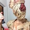 Photo #2 - Silent Hill Nurse and Pyramid Head