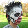 Photo #3 - Skull Half Face Right side of face