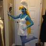 Photo #1 - Smurfette before she left for the party..