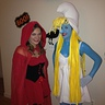 Photo #3 - Smurfette and Little Red Riding Hood!