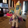 Photo #1 - Smurfette riding a Unicorn