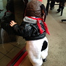 Photo #3 - Snoopy's costume as seen from the back