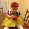 Photo #2 - Snow White's 1st Halloween!