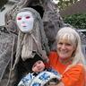 Photo #1 - Posing with kids on Halloween