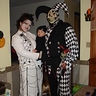 Photo #2 - Baby Spider Alex, Mommy is the web and daddy is in the pic as a jester
