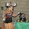Photo #1 - Gryphon the Witch Doctor Cooking up Shrunken Head Phoenix in a Cauldron