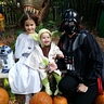 Photo #2 - darth mama, princess 'layna' and yoda :)