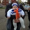 Photo #1 - The Marshmallow Man and his daddy