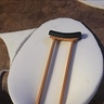 Photo #2 - the crutches with polyfoam being added