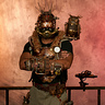 Photo #1 - Krank Shaft the Steampunk Engineer with Archimedes the Owl