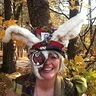 Photo #5 - White Rabbit Hat & Face