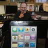Photo #2 - Steve Jobs posing at the camera