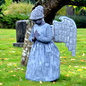 Photo #1 - Stone Angel Statue