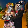 Photo #1 - The Sugar Skull Couple Goes Out on the Town.