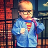 Photo #5 - baby Clark Kent 2