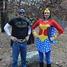 Photo #3 - Batman dad and Wonder Woman mom