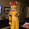 Photo #3 - Front view of Chandler as Bowser