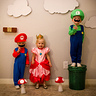 Photo #1 - Mario, Princess Peach and Luigi