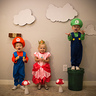 Photo #2 - Mario, Princess Peach and Luigi
