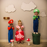 Photo #3 - Mario, Princess Peach and Luigi