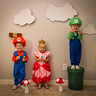 Photo #4 - Mario, Princess Peach and Luigi
