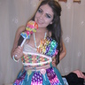 Photo #1 - Me wearing my candy costume:)