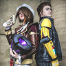 Photo #2 - Fiona and Rhys with Vault Key
