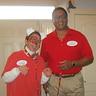 Photo #1 - Target employee & Bullseye Target mascot